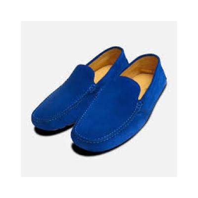zapatos de color azul eléctrico para hombre